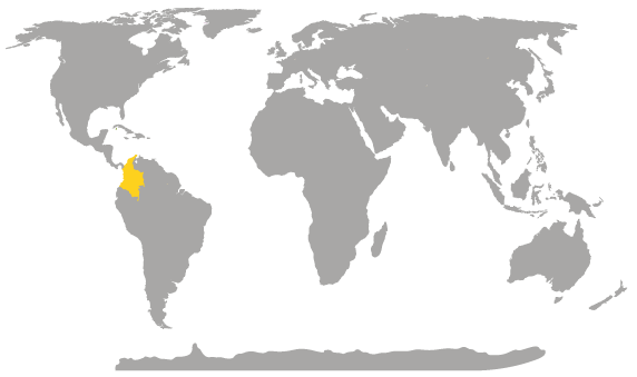 Where is Colombia Located, Location Map of Colombia ? Location of ...