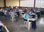 Look in a classroom in an elementary school in Monteria Colombia