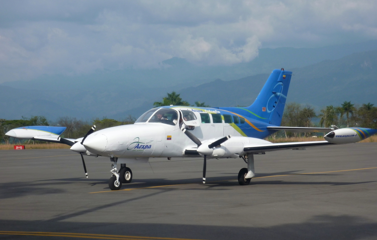 Photo of Aexpa Cessna 401/402