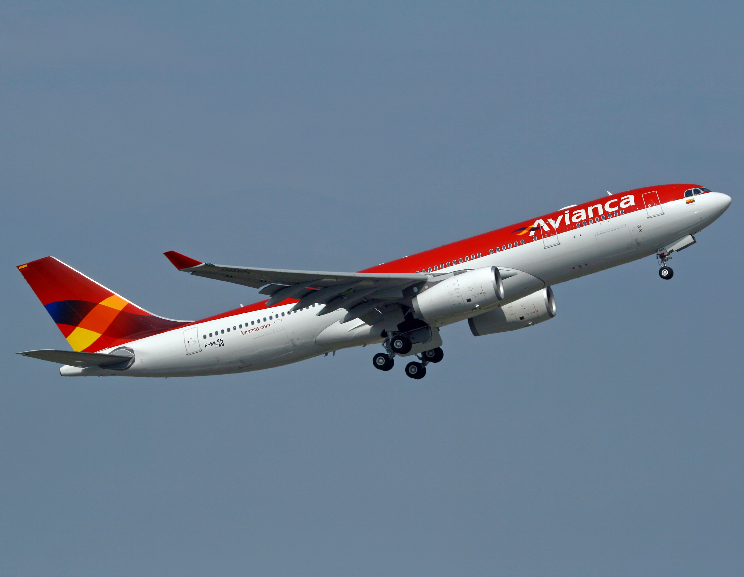 Photo of Avianca Airbus A330-200