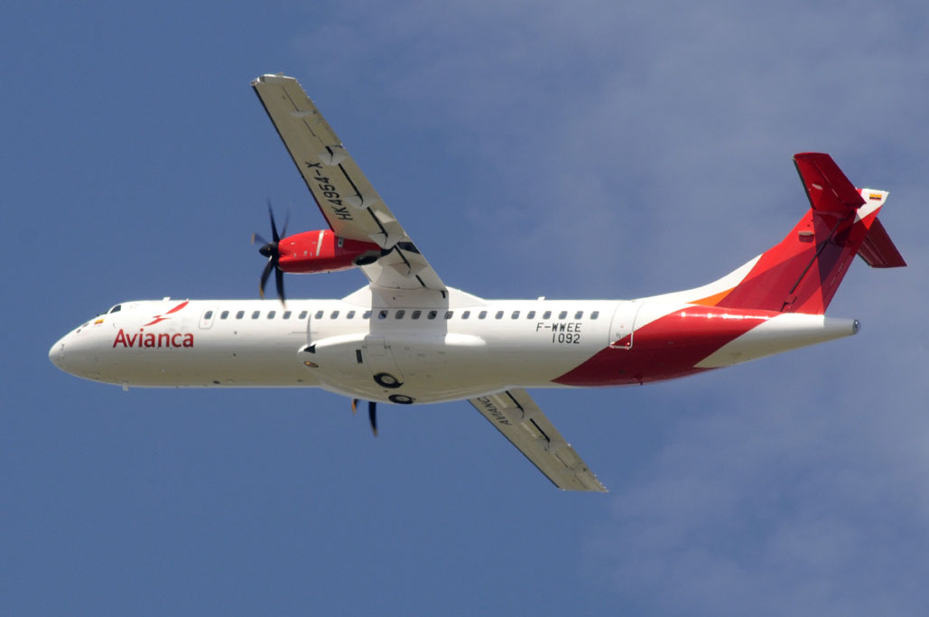 Photo of Avianca ATR 72-600