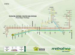 Metrolinea - Routes