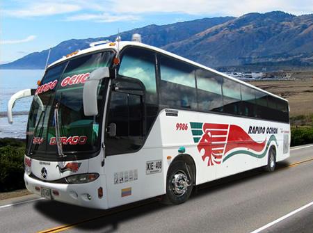 Rapido Ochoa - Bus - Transport - ColombiaInfo.org