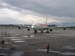 Iberia arrives in Bogota