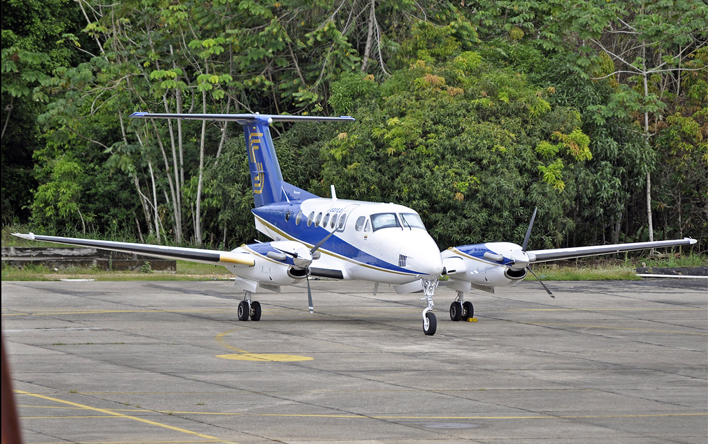Foto van Searca KingAir 200