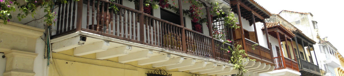 Historic centre of Cartagena Colombia