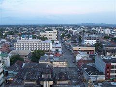 Monteria stad gezien vanuit de lucht