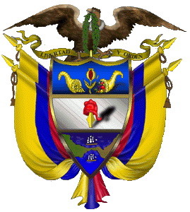 Flag and Arms - Colombia