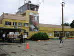 Airport of Leticia Colombia